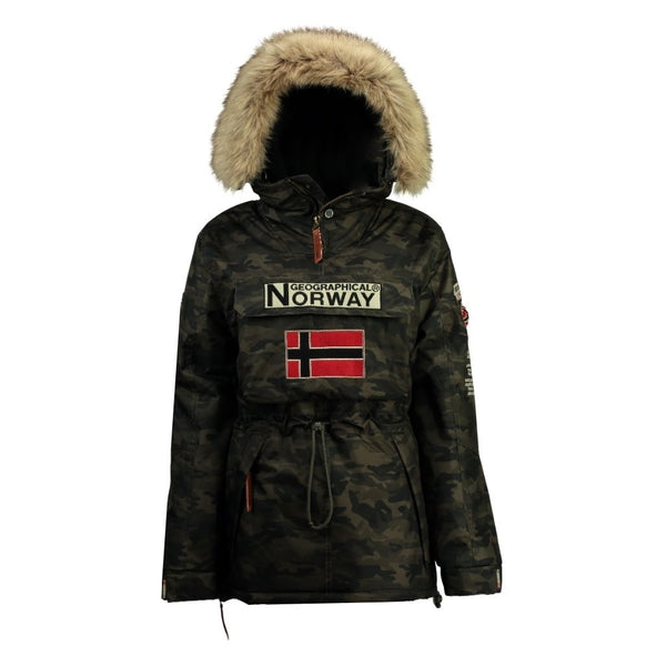 Geographical Norway BOOMERANG MEN CAMO 056 Winter jacket CAMO KAKI