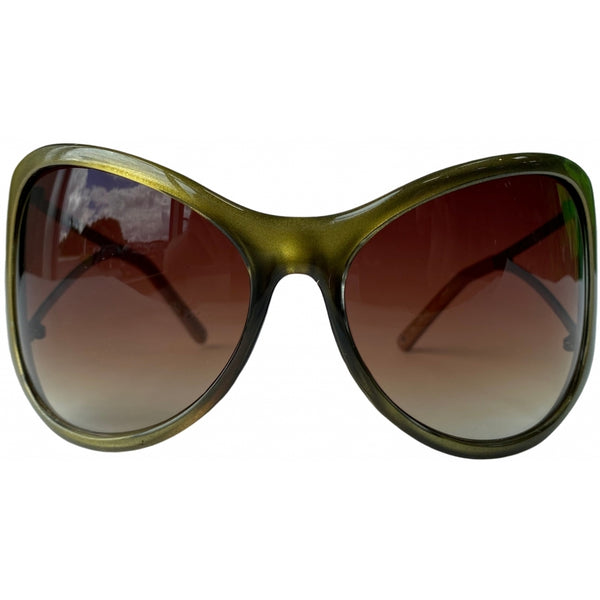 Tex-Time Barito Design Of Copenhagen Dame Solbrille Sunglasses Pilgrim 701-400 Gold