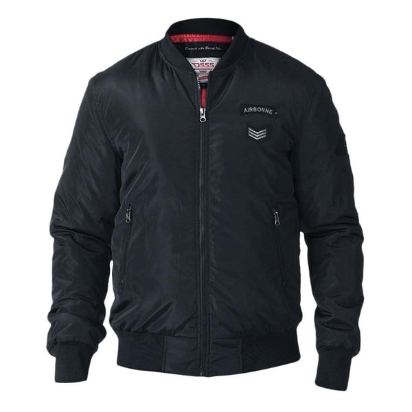 Duke Clothing Bomber Jakke Herre D555 PEDRO Winter jacket Black