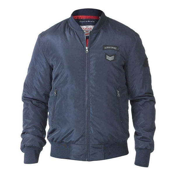 Duke Clothing Bomber Jakke Herre D555 PEDRO Winter jacket Navy
