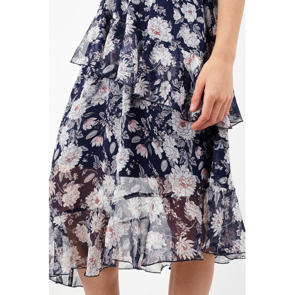 Tex-Time Brave soul dame kjole botanic Dress Navy