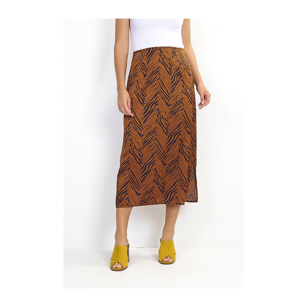 Tex-Time Brave soul dame nederdel eden Skirt Brown