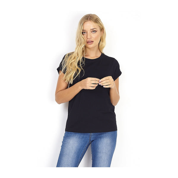 Tex-Time Brave soul dame tee Eleano T-shirt Black