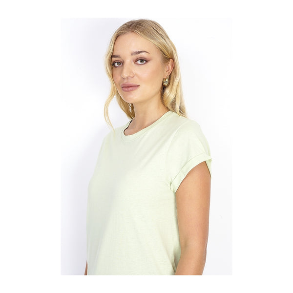 Tex-Time Brave soul dame tee Tina T-shirt Green