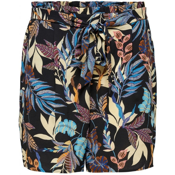 ONLY Carmakoma CARMAKOMA Lux Saint Paperbsg Shorts PLUSSIZE Shorts Leafs
