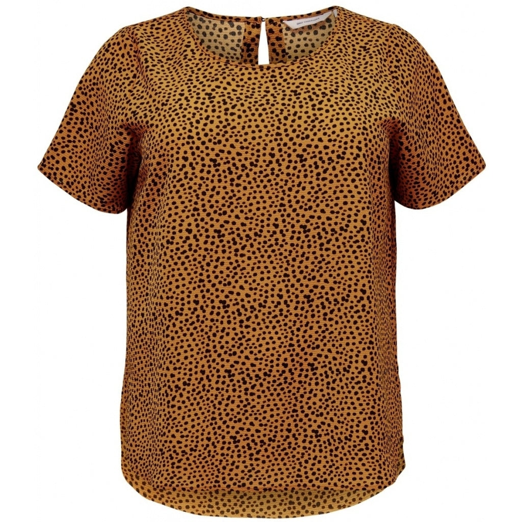 Image of   CARMAKOMA Luxeve Top PLUSSIZE - Golden - 50