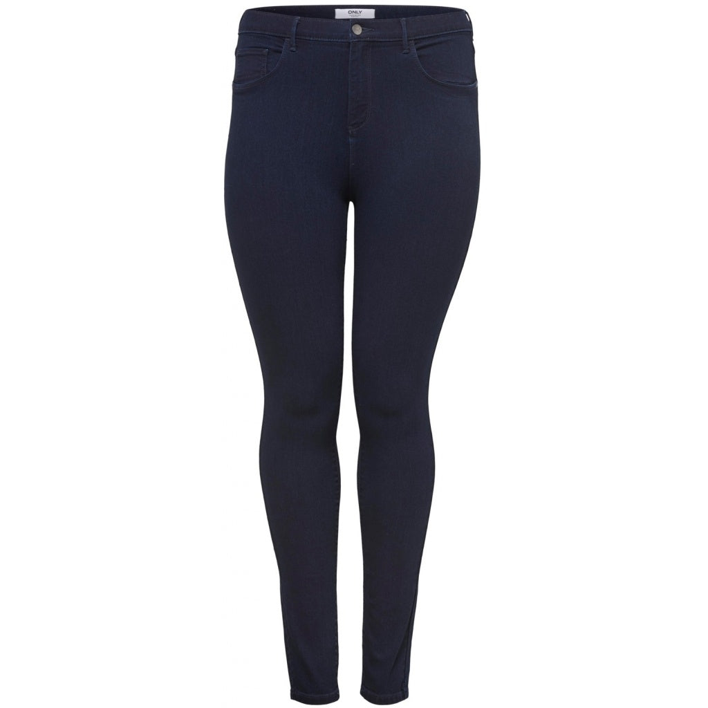 Image of   CARMAKOMA Storm Push Up Skinny Jeans PLUSSIZE - Dark Blue - 42
