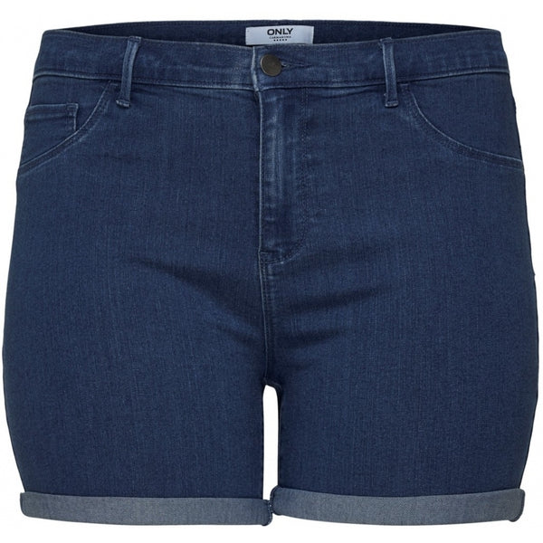ONLY Carmakoma CARMAKOMA Thunder Denim Shorts PLUSSIZE Shorts Denim Blue