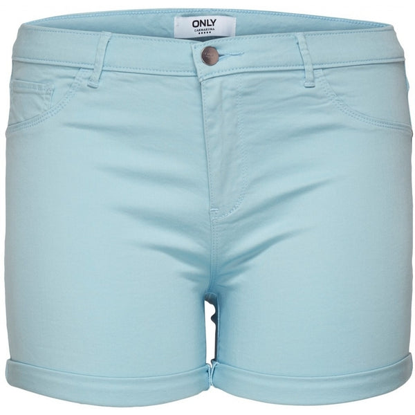 ONLY Carmakoma CARMAKOMA Thunder Shorts PLUSSIZE Shorts Light blue