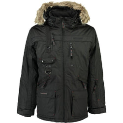 Geographical Norway CHIRAC MEN 001+REPEAT Winter jacket Black
