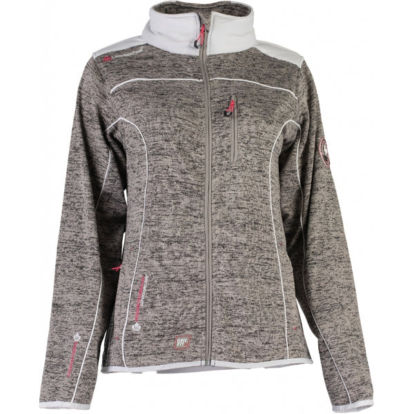 Geographical Norway Canadian Peak Dame Fleece Jakke Tina Fleece Grey