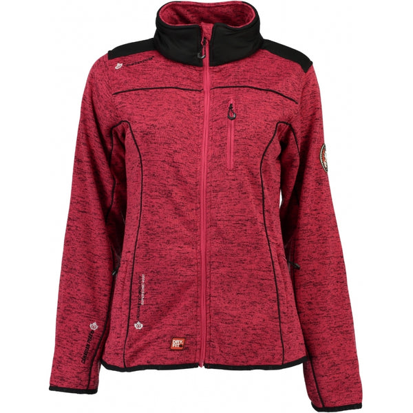 Geographical Norway Canadian Peak Dame Fleece Jakke Tina Fleece Pink