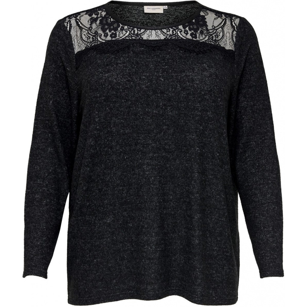 Image of   Carmakoma dame pullover doha - Dark Grey - XL (54)