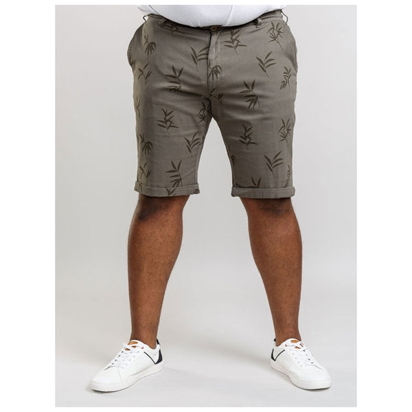 Duke Clothing D555 Herre shorts Chapman2 Plus Shorts Kaki