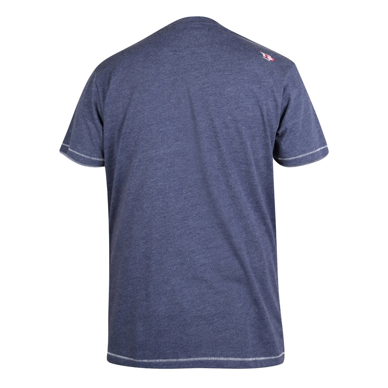 Duke Clothing D555 herre tee warren T-shirt Navy