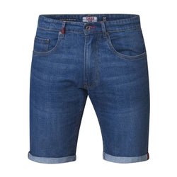 Duke Clothing DUKE D555 Denim Shorts Herre NATE PLUS Shorts Denim