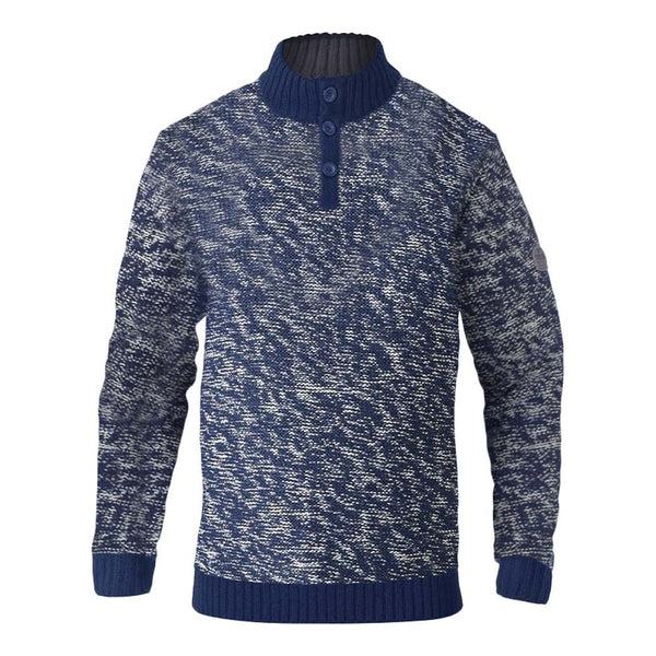 Duke Clothing DUKE D555 Herre Strik MARSDEN Knit Navy