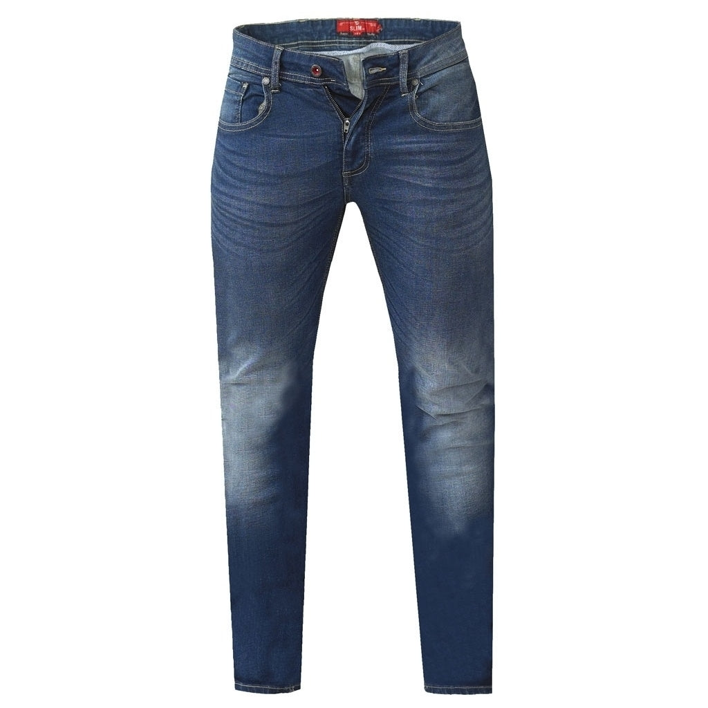 Image of   DUKE D555 JEANS Herre AMBROSE PLUS - Denim - 42 / Regular