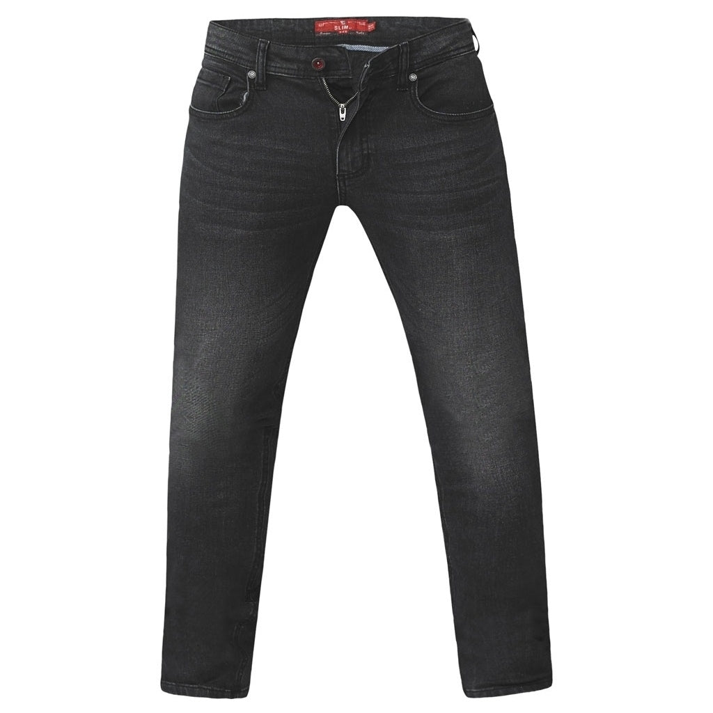Image of   DUKE D555 JEANS Herre BENSON PLUS - Grey - 42 / Long
