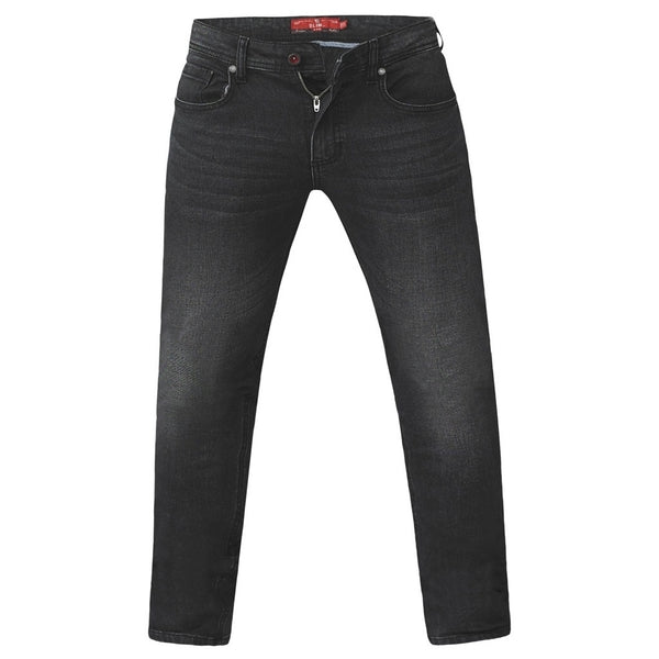Duke Clothing DUKE D555 JEANS Herre BENSON PLUS Jeans Grey