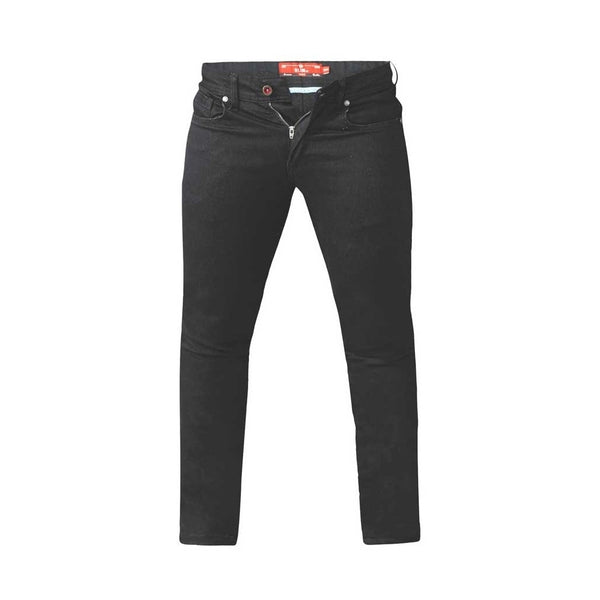 Duke Clothing DUKE D555 JEANS Herre CLAUDE PLUS Jeans Black