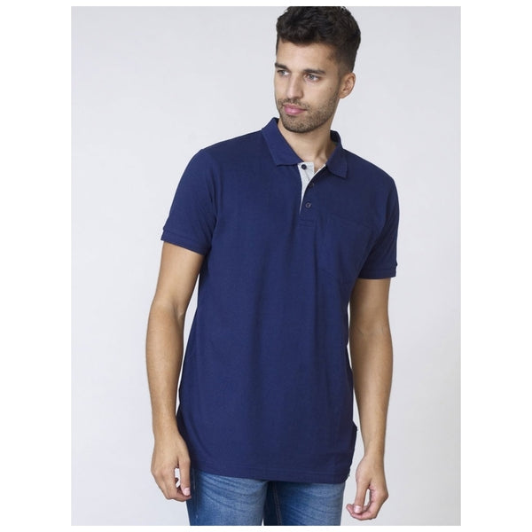 Duke Clothing DUKE D555 POLO Herre GRANT PLUS Polo Navy