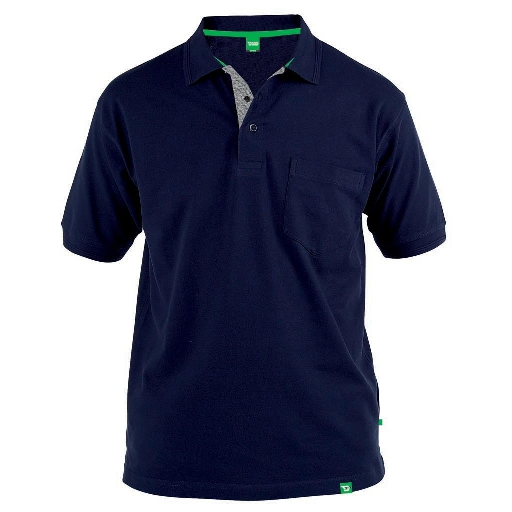 Image of   DUKE D555 POLO Herre GRANT PLUS - Navy - 3XL