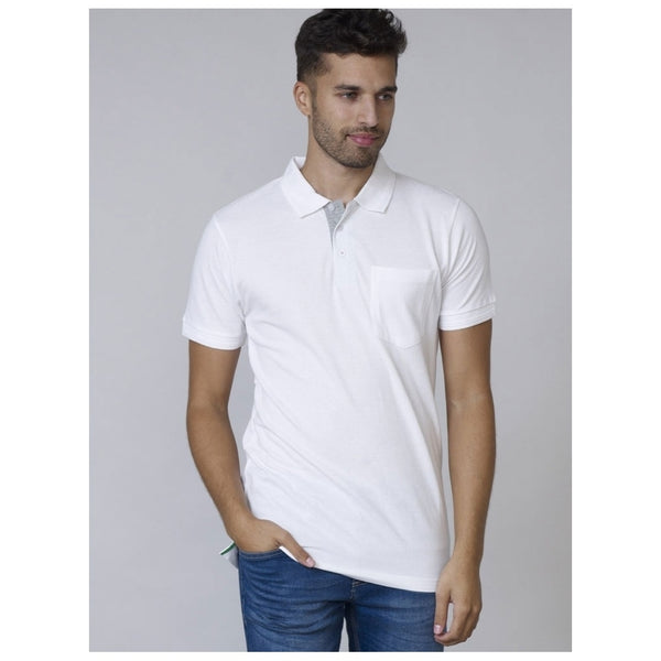 Duke Clothing DUKE D555 POLO Herre GRANT PLUS Polo White