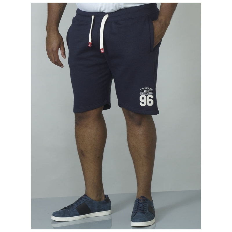 Duke Clothing DUKE D555 Shorts Herre LINDON-1 PLUS Shorts Navy