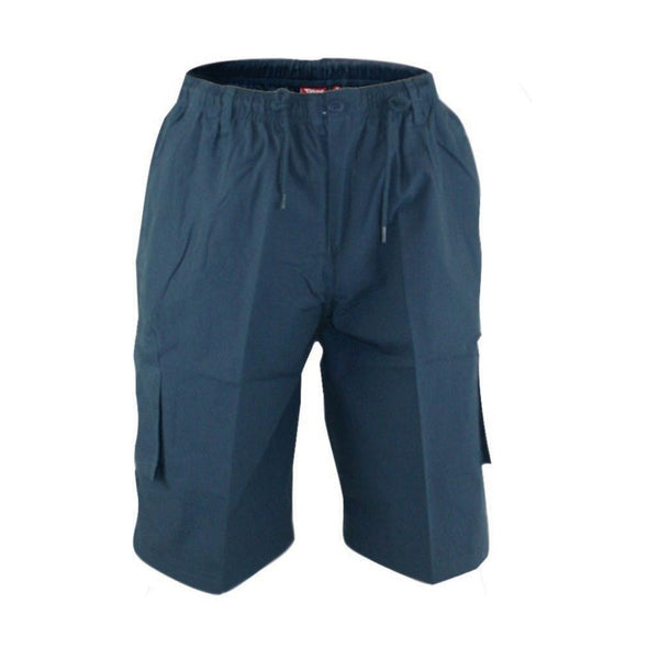 Duke Clothing DUKE D555 Shorts Herre NICK PLUS Shorts Navy