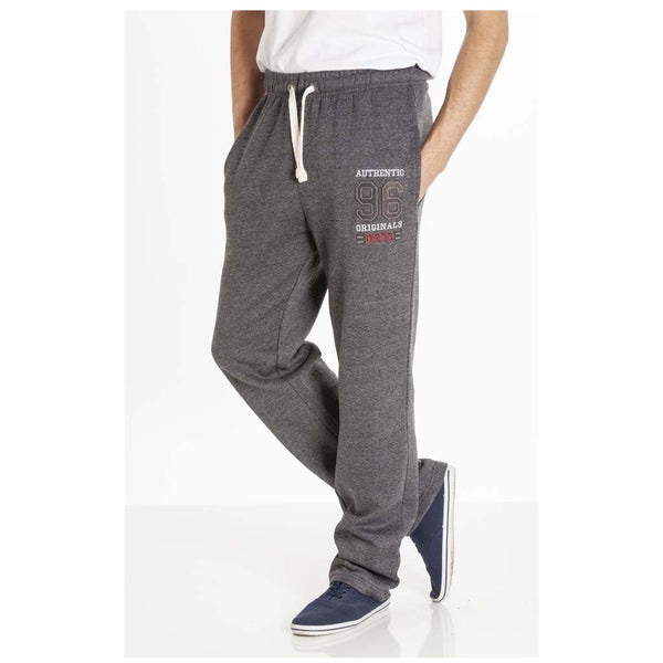Duke Clothing DUKE D555 Sweatpants Herre Portland-1 PLUS Sweatpant Charcoal
