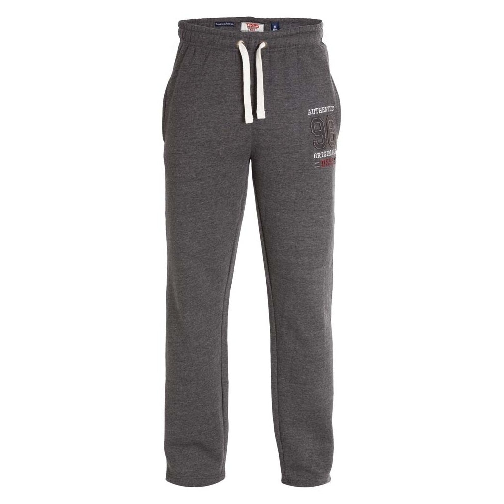 Image of   DUKE D555 Sweatpants Herre Portland-1 PLUS - Charcoal - 4XL