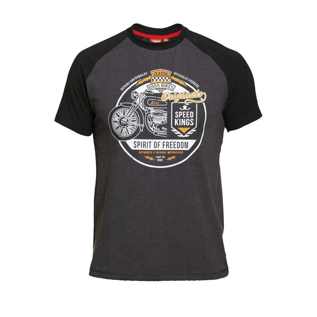 Image of   DUKE D555 T-Shirt DALLAS1 - Charcoal - L