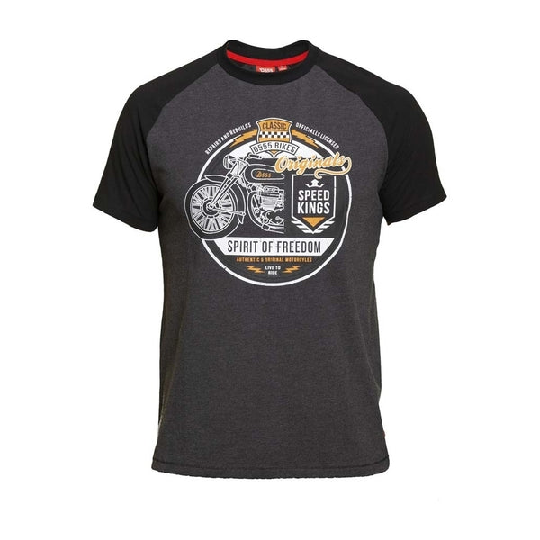 Duke Clothing DUKE D555 T-Shirt DALLAS1 T-shirt Charcoal