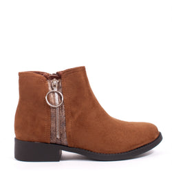 Tex-Time Dame Ankelstøvle JW2 Shoes Camel