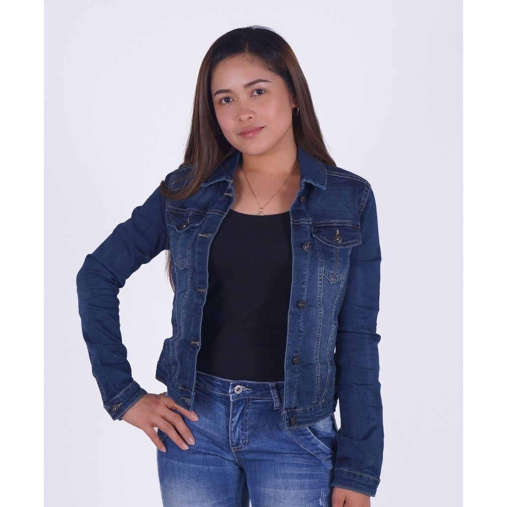 Image of   Dame Denim Jakke - Denim - 34