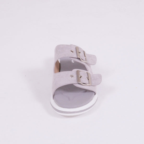 Tex-Time Dame Sandal Shoes Grey