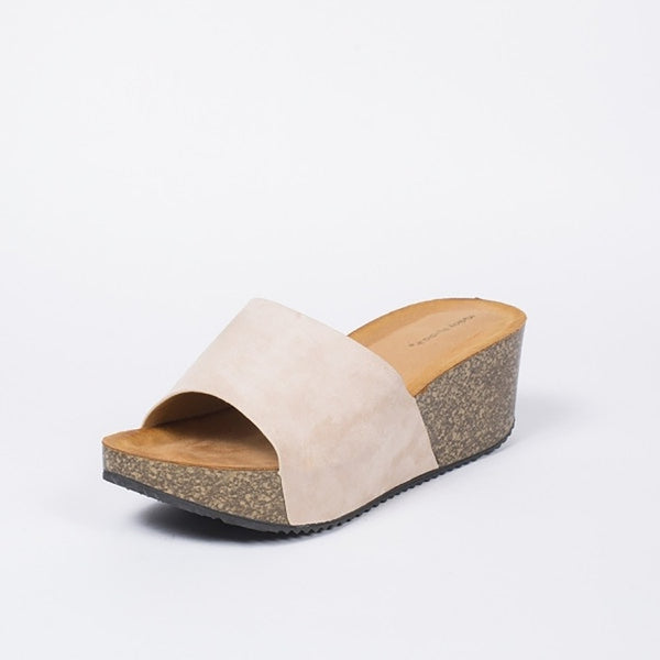 Tex-Time Dame Sandal Med Hæl Ideal Shoes Shoes Beige