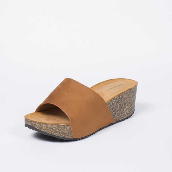 Tex-Time Dame Sandal Med Hæl Ideal Shoes Shoes Camel