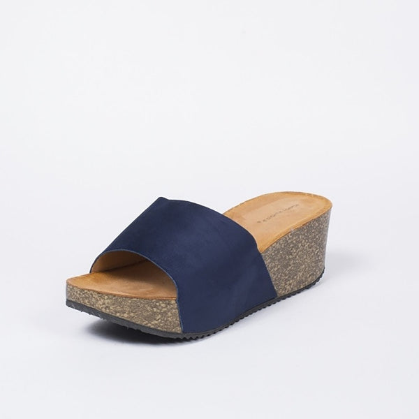 Tex-Time Dame Sandal Med Hæl Ideal Shoes Shoes Navy
