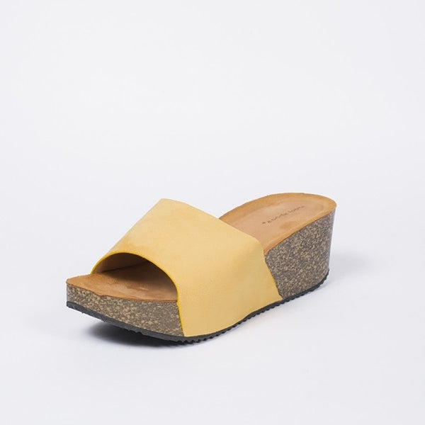 Tex-Time Dame Sandal Med Hæl Ideal Shoes Shoes Yellow