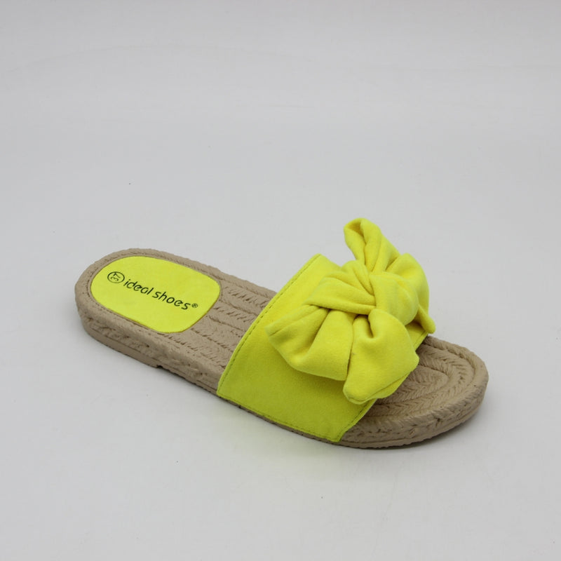 Shoes Dame Sandal SE-9627 Shoes Yellow