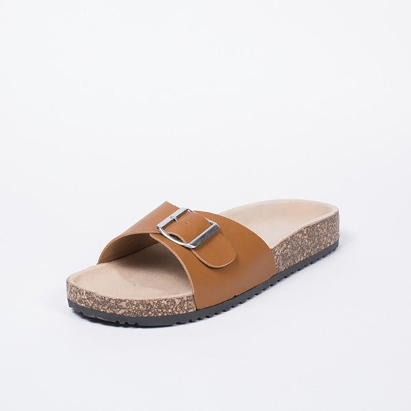 Tex-Time Dame Sandal Spænde Ideal Shoes Shoes Camel