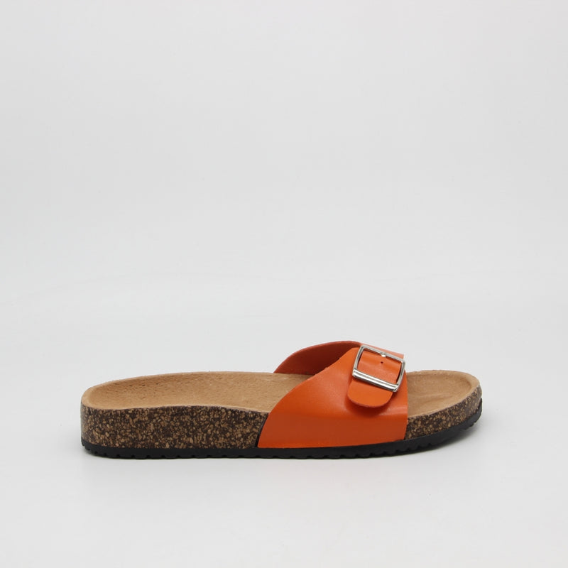 Tex-Time Dame Sandal Spænde Ideal Shoes Shoes Orange