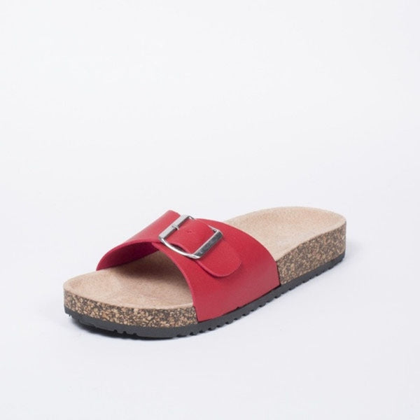 Tex-Time Dame Sandal Spænde Ideal Shoes Shoes Red