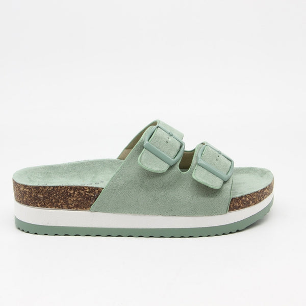 Shoes Dame Sandaler 3403-1 Shoes Green