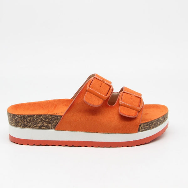 Shoes Dame Sandaler 3403-1 Shoes Orange