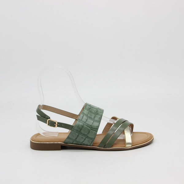 Shoes Dame Sandaler 6661 Shoes Green
