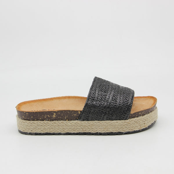 Shoes Dame Sandaler L-1068 Shoes Black