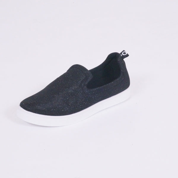 Tex-Time Dame Sko Glimmer Shoes Black